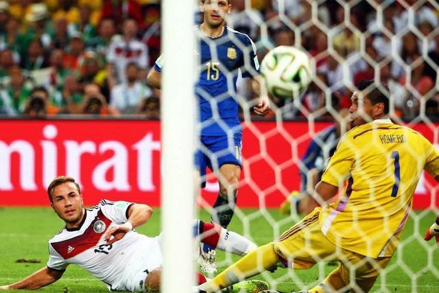 Wie Deutschland Argentiniens Raute knackte