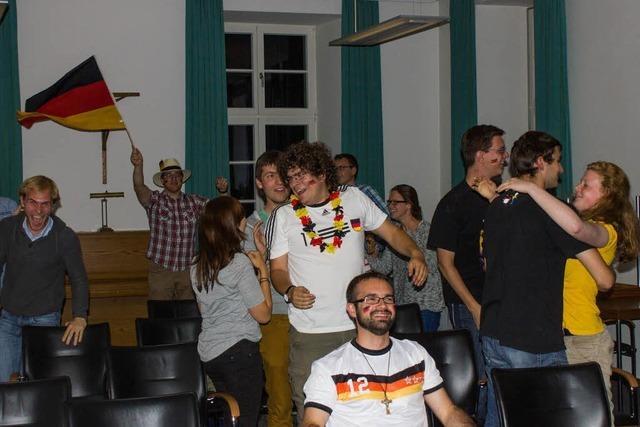 Das Finale im Freiburger Priesterseminar