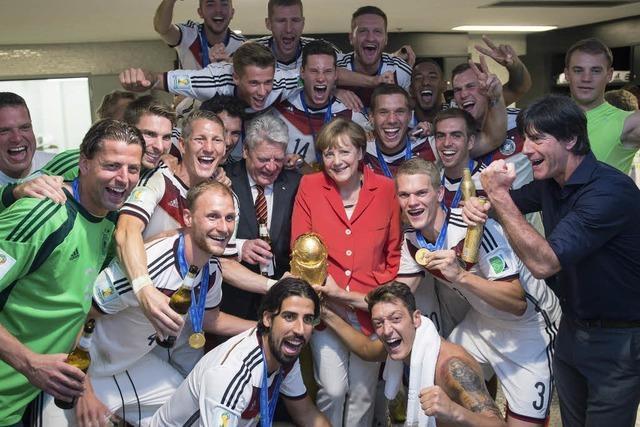 Deutsche WM-Helden legen Party-Marathon hin