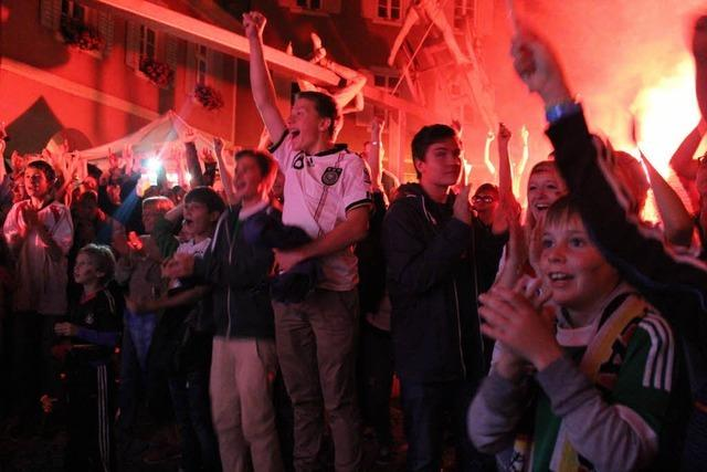 Feiern wie die Weltmeister