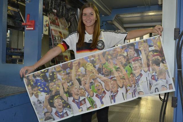 So sehen Sieger aus: Das große WM-Poster der BZ