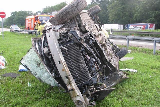 Drei Verletzte nach Unfall