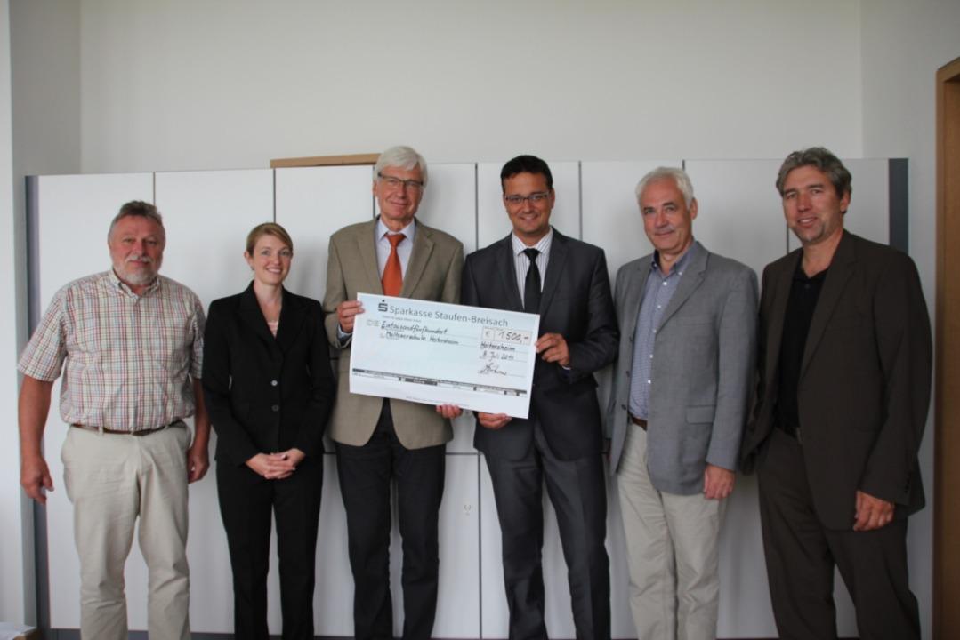 Aus einer BZ-Aktion des Vereins &#8222...erhielt die Malteserschule 1500 Euro.   | Foto: Sabine Model
