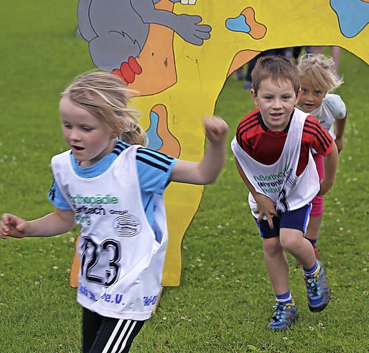 Spaß und Action war beim Sommersporttag geboten.  | Foto: Joachim Frommherz
