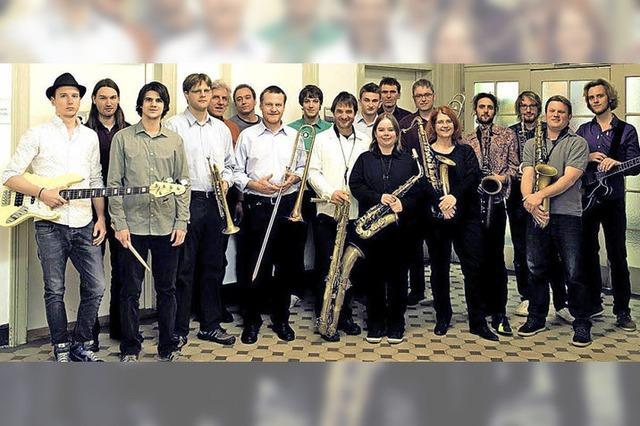 Doppelkonzert im Auditorium der Jazz- und Rockschule