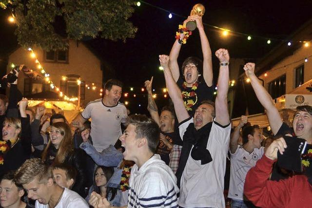 Wörthfest in Weltmeisterstimmung