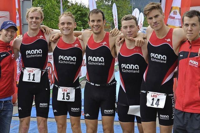 TNB-Triathleten sichern sich Platz drei