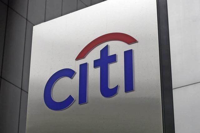Milliardenbuße für Citigroup