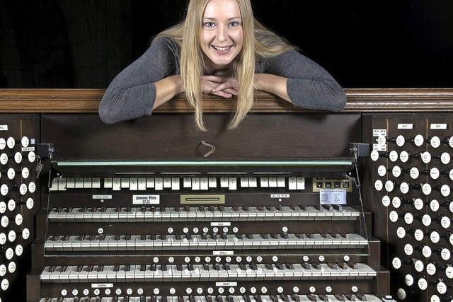 Maria Mokhova beim Schopfheimer Orgelsommer