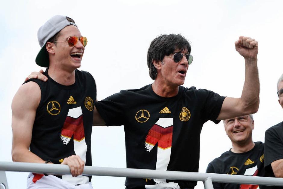 1954, 1974, 1990 und 2014: Deutschland ist wieder Weltmeister (Foto: dpa)
