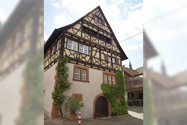 Herbolzheim vor 425 Jahren: Prachtvolle Fachwerkhäuser stehen für damalige Blütezeit
