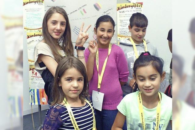 Kinder reden, Politik hört zu