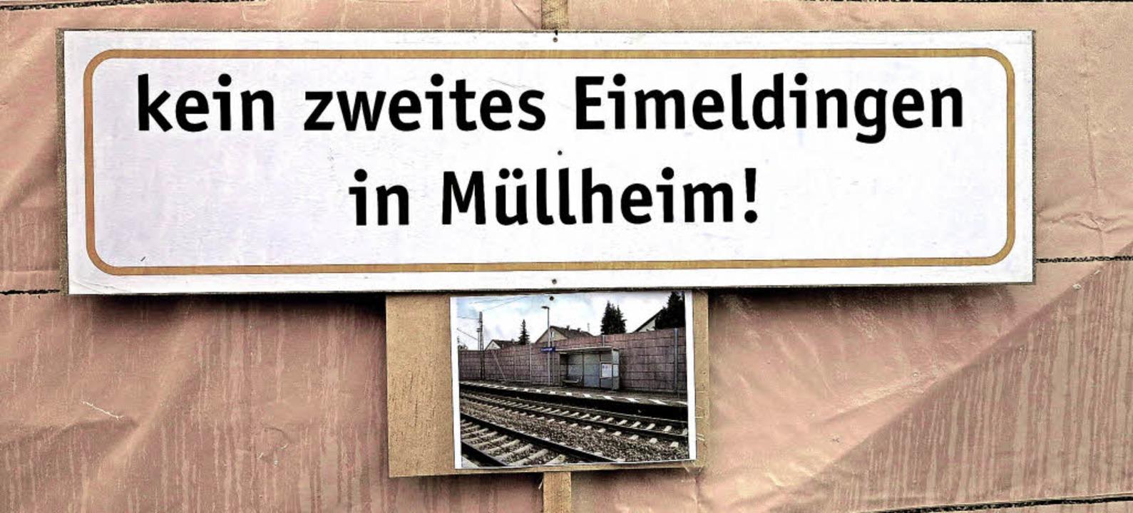 Beim Besuch des Landesverkehrsminister...ebaut – für Eimeldinger bitter.   | Foto: Dorothee philipp