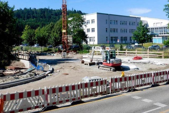 Die Hohbergbrücke ist fertig, aber nicht offen