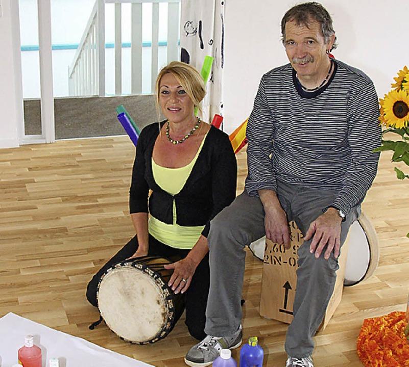 Evelyn Sachs und Eberhard Jäckle sind ...kstatt in der Denzlinger Straße 15-17.  | Foto: Gerda Oswald