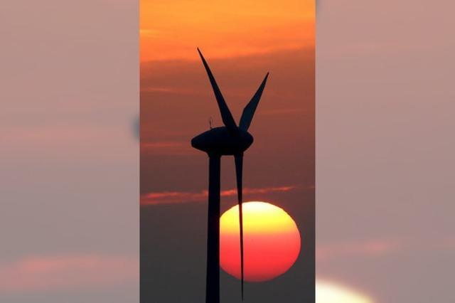 Etwas Gegenwind für den Windpark