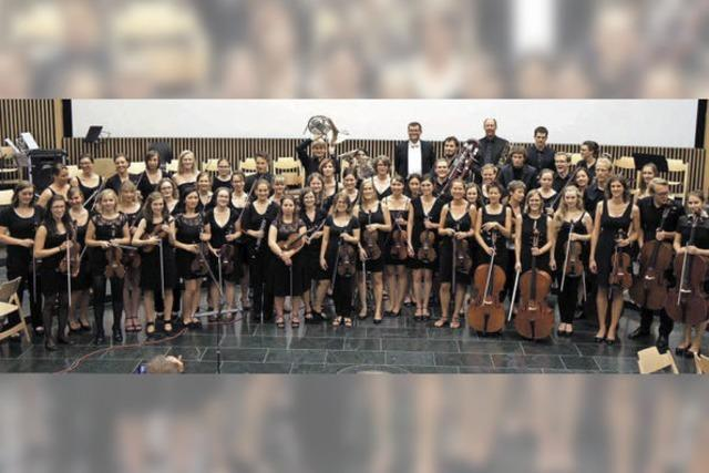Studenten-Orchester spielt im Bürgerhaus Zähringen