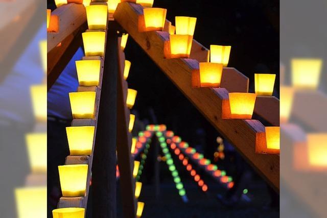 Kurpark im Lichterglanz