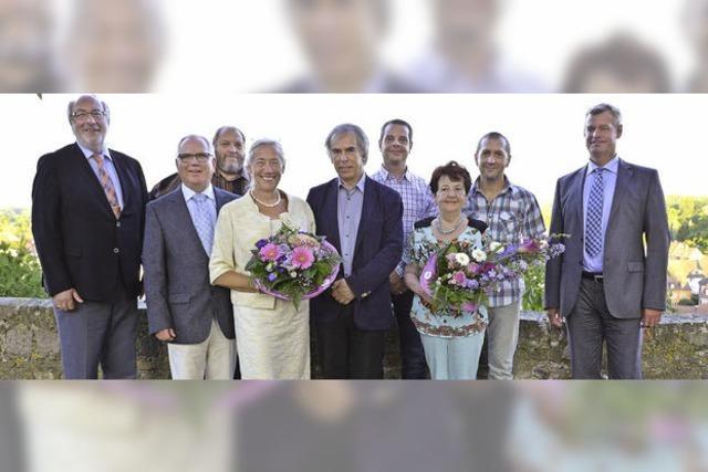 Neun Breisacher Gemeinderäte verabschiedet