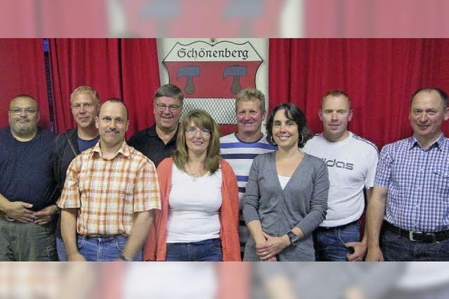 Fünf Neue für Schönenberg