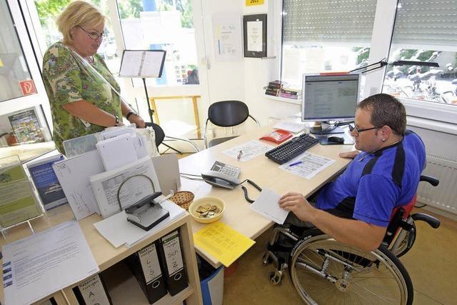 Menschen mit Behinderung haben es im Arbeitsalltag schwer
