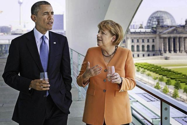 Differenzen zwischen Deutschland und den USA bleiben
