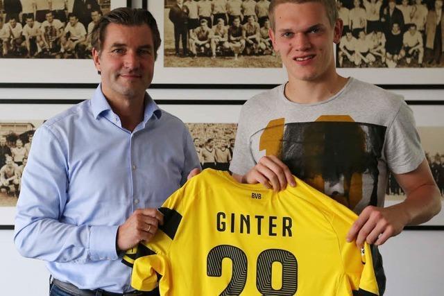 Ginter verlässt den SC Freiburg und wechselt zum BVB