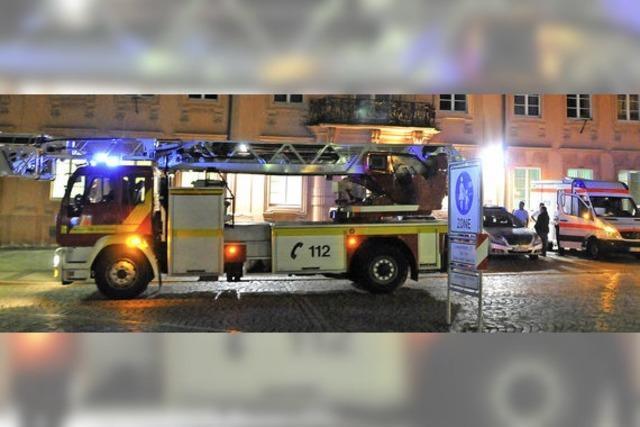 Rauch und Brandgeruch am Stadtbuckel