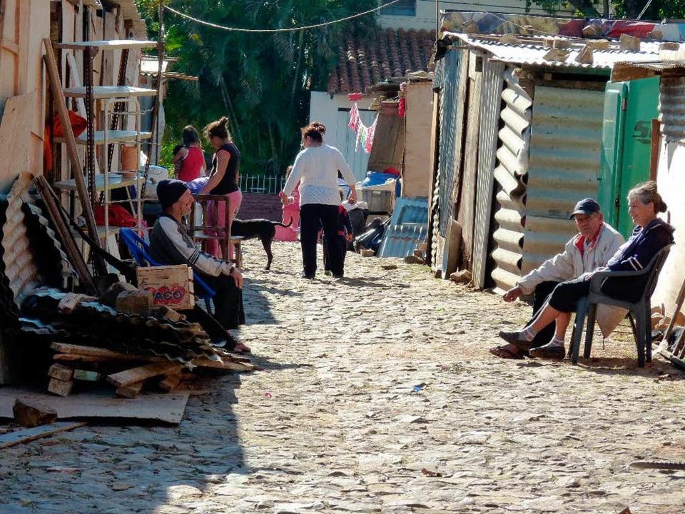 In Maracana müssen die Familien in Verschlägen und armen Verhältnissen leben.  | Foto: privat