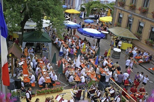 Stadt feiert 425 Jahre Marktrecht