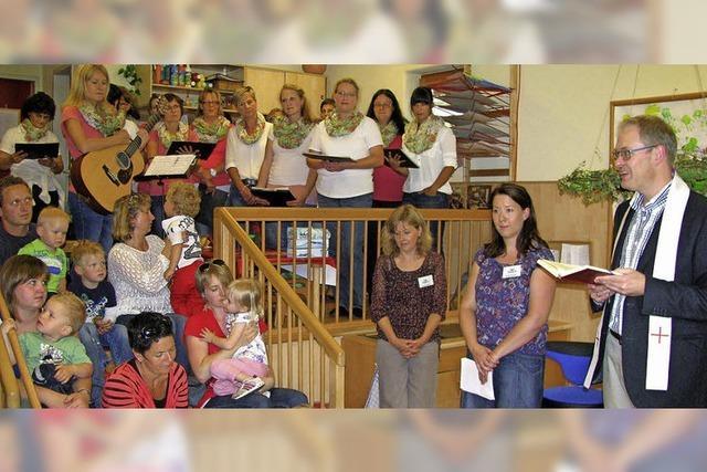 Kindergarten Don Bosco begrüßt die neue Kleinkindgruppe