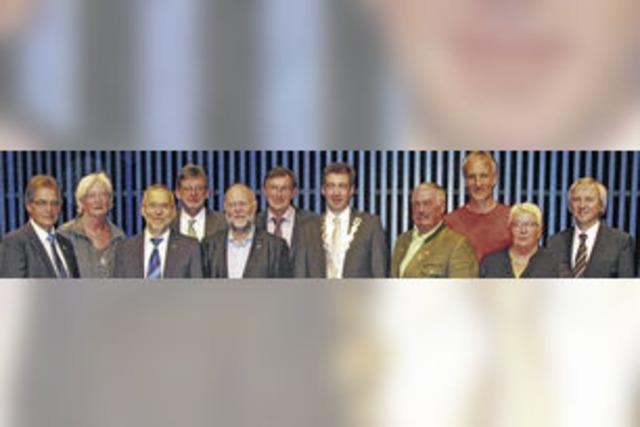 Ehrungsreigen für Politiker im Ehrenamt