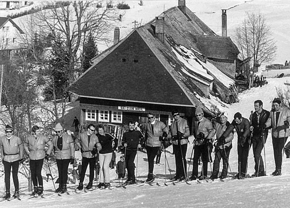 Skiunterricht an der Todtnauer Skihütt... bekannte Skilehrer und Werner Mehlin   | Foto: Skiclub