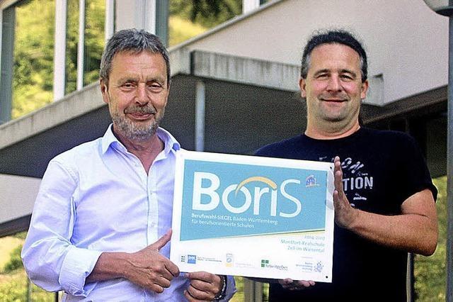 Boris ist neu an der Schule