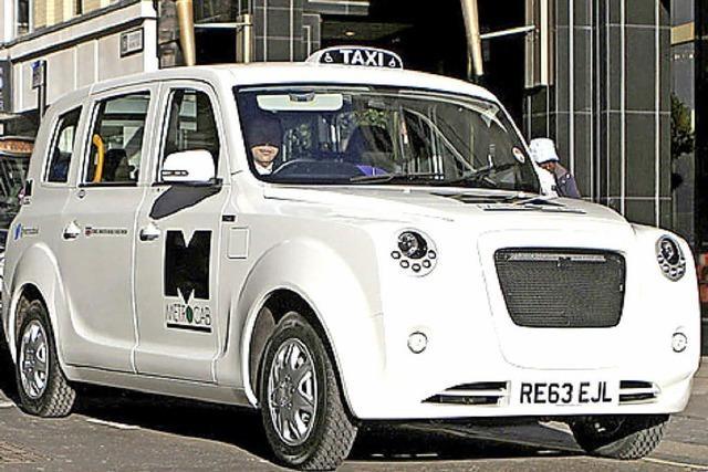 Taxi mit Steckdose