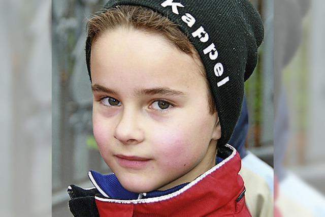 FRAGEBOGEN: Maximilian, 9 Jahre, Freiburg