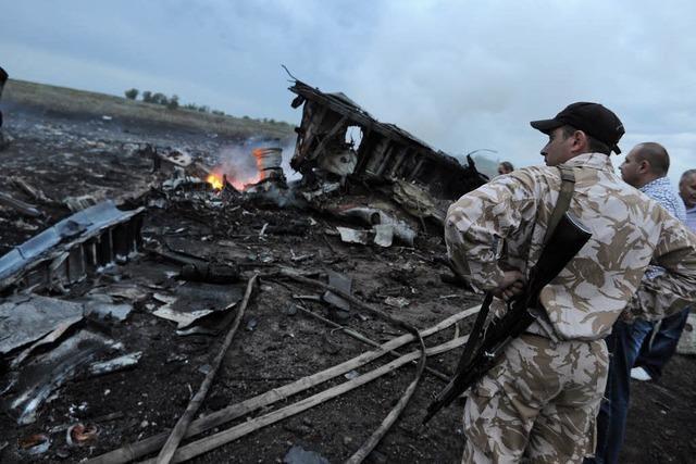 Gegenseitige Schuldzuweisungen nach Boeing-Absturz mit 298 Toten