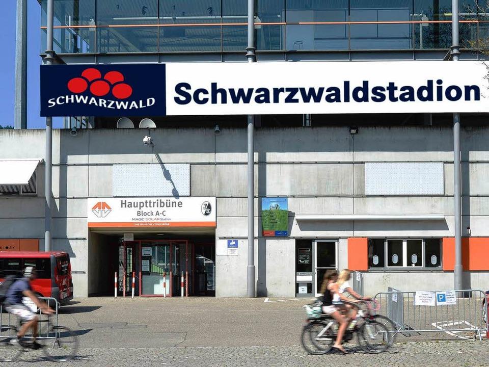 Spielt der SC Freiburg künftig im Schwarzwaldstadion?    Foto: Bamberger-honorarfrei Michael