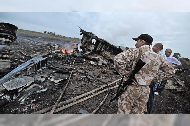 Passagierjet über Donezk abgestürzt
