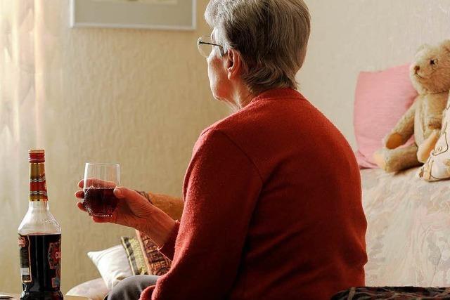Alkoholsucht im Alter – das ist keine Seltenheit