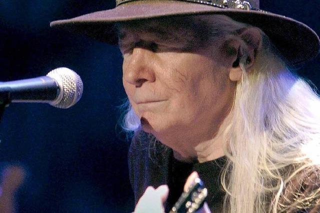 Der Blues-Gitarrist Johnny Winter ist tot