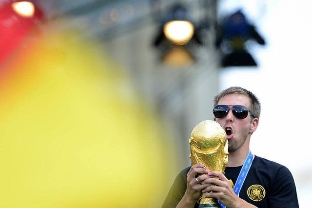 Philipp Lahm steigt als Nationalspieler aus