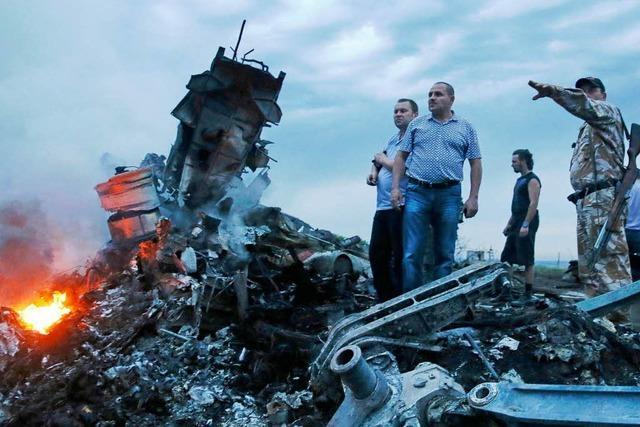 Flug MH17 – Absturz des Malaysia-Jets löst höchste Besorgnis aus