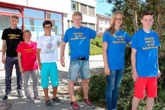 Junge Sportler stellen neue Schulrekorde auf