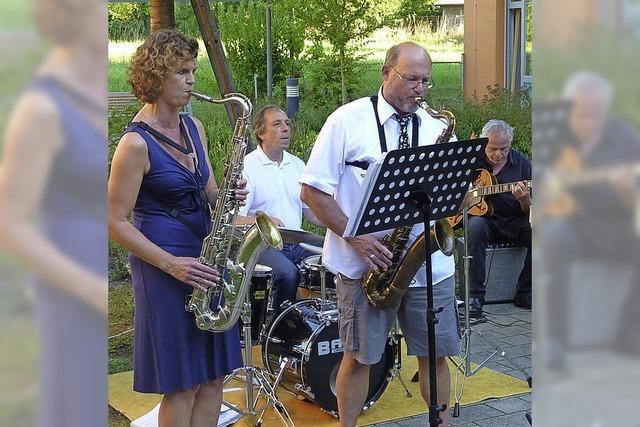 Jazz und Tanz im Seniorenheim
