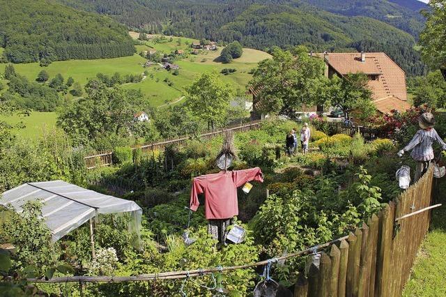 Tag des des offenen Bauerngartens in Bürchau und Enkenstein
