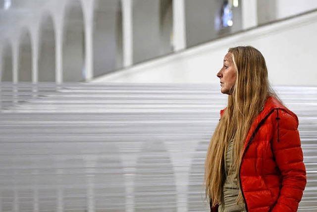 Installation von Danuta Karsten im Stadtmuseum für Kunst und Geschichte