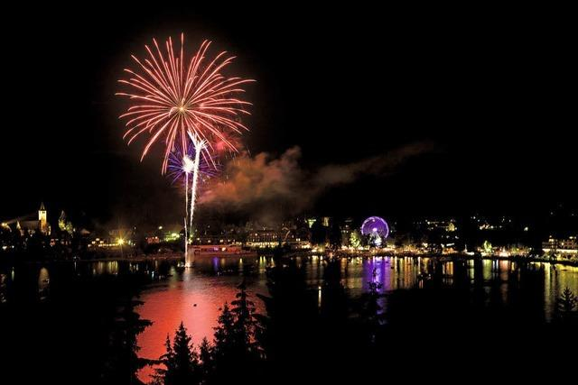 Seenachtsfest in Titisee