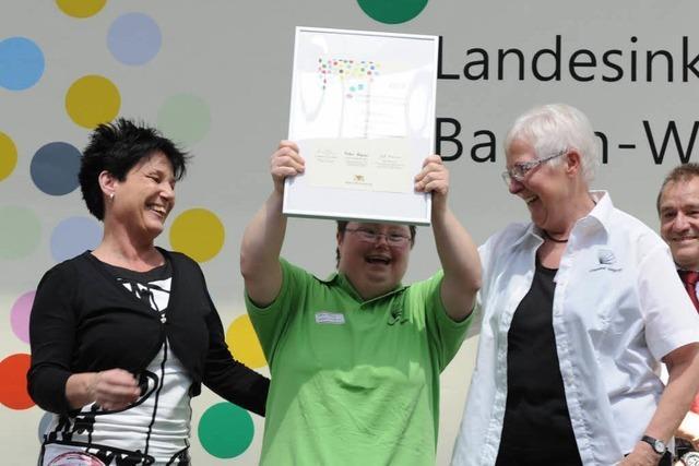 Inklusionspreis an das Bürgerstift in Ettenheim