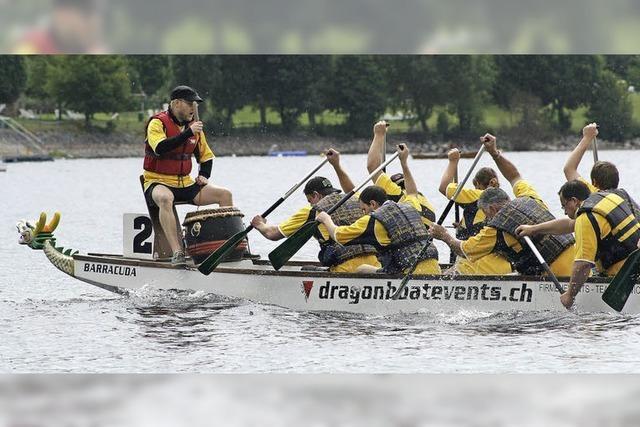 Drachenbootrennen beim Seenachtsfest: 7 Teams sind gemeldet